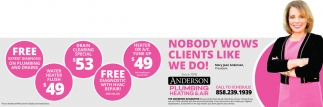 Nobody Wows Clients Like We Do!