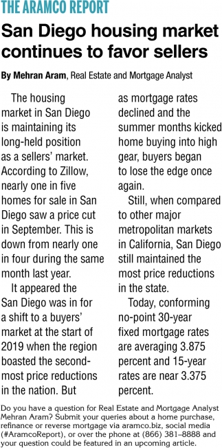 San Diego Housing Market