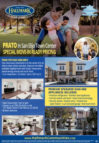 Special Move-In Ready Pricing