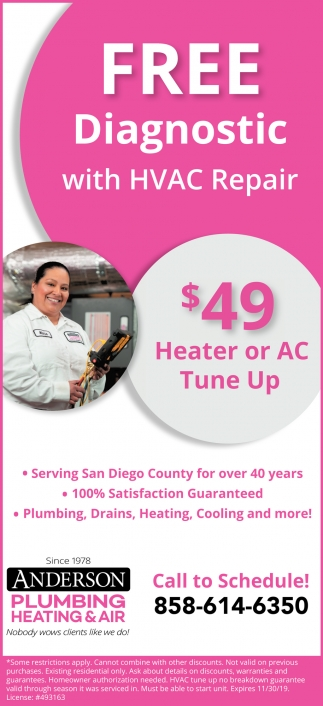 Free Diagnostic with HVAC Repair
