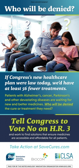 Tell Congress to Vote No on H.R. 3