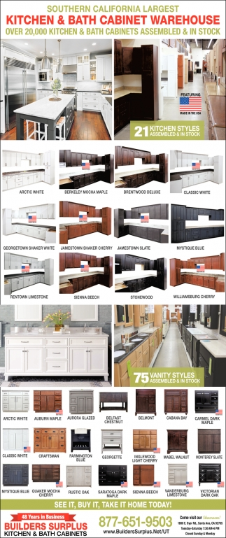 Kitchen & Bath Cabinet Warehouse