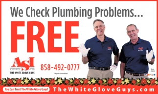 We Check Plumbing Proglems