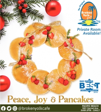 Peace, Joy & Pancakes