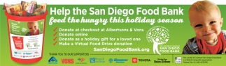 Help the San Diego Food Bank