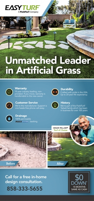Unmatched Leader in Artificial Grass