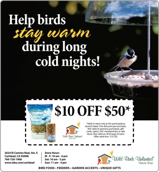 Help Birds Stay Warm During Long Cold Nights