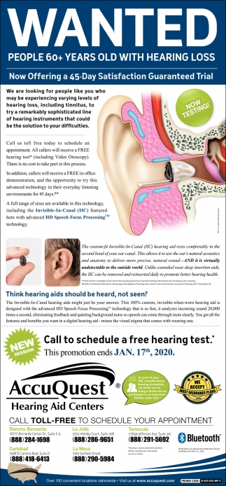 People 60+ Years Old with Hearing Loss