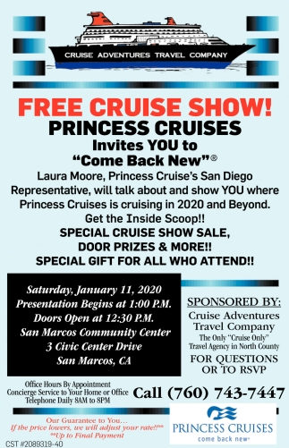 Free Cruise Show