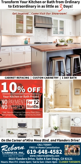 Transform Your Kitchen or Bath