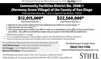 Community Facilities District No. 2008-1