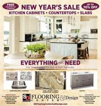 New Year's Flooring Sale