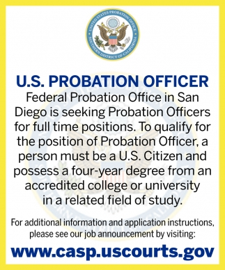 U.S Probation Officer