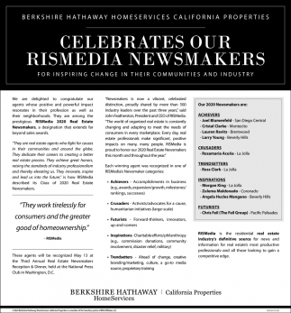 Celebrates Our Rismedia Newsmakers