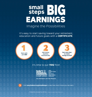 Small Steps Big Earnings