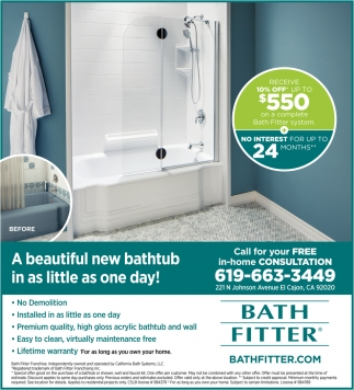 New Bathhub