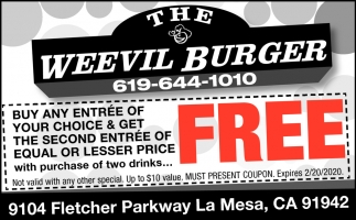 The Weevil Burger