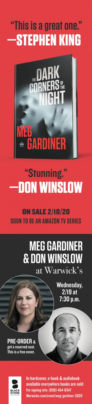 Meet Meg Gardiner & Don Winslow
