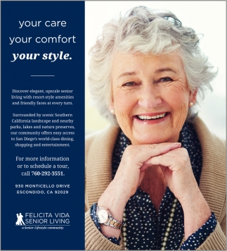 Senior Living Lifestyle Community