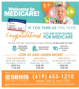 Welcome to Medicare!