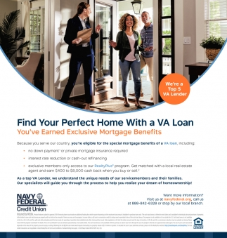 Find Your Perfect Home with a VA Loan