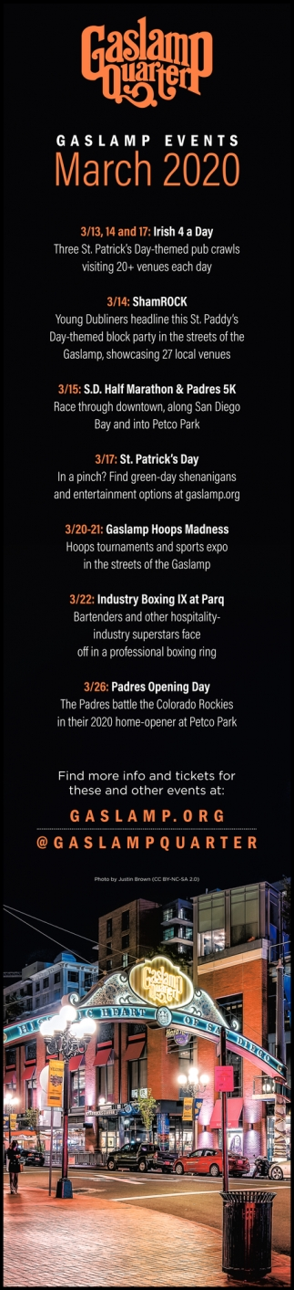 Gaslamp Events