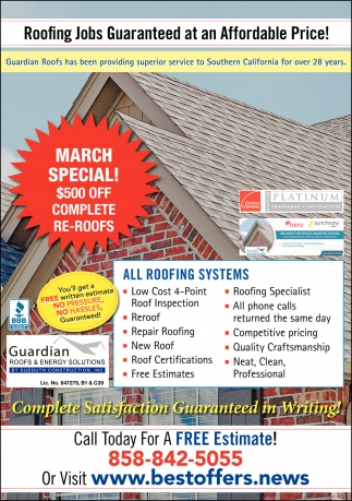 Roofing Jobs Guaranteed at an Affordable Price