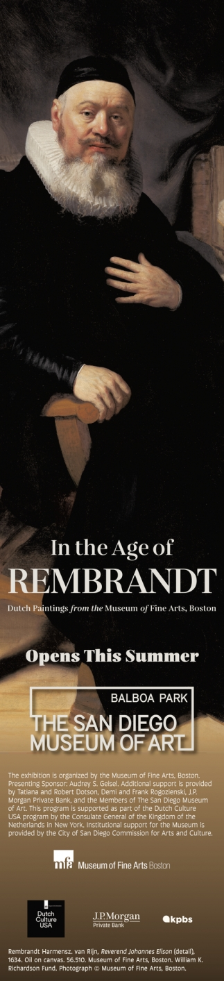In The Age of Rembrandt