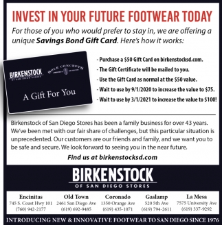 Invest In Your Future Footwear Today