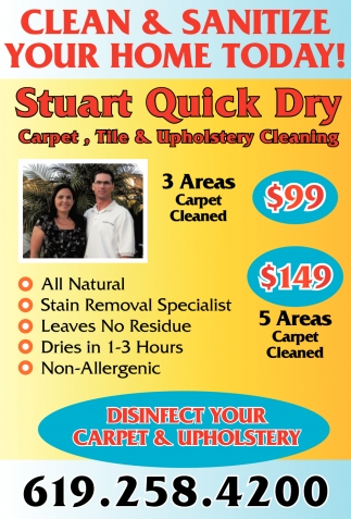 Clean & Sanitize Your Home Today!