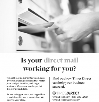 Is Your Direct Mail Working for You?