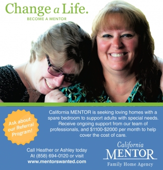 Change a Life Become a Mentor