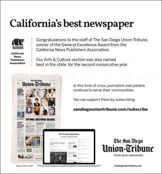 Califoria's Best Newspaper
