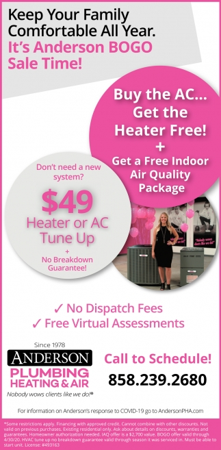 Heater Or AC Tune Up