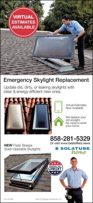 Emergency Skylight Repacement