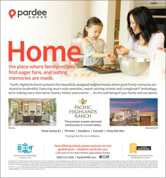 Call One of New Home Specialists Today