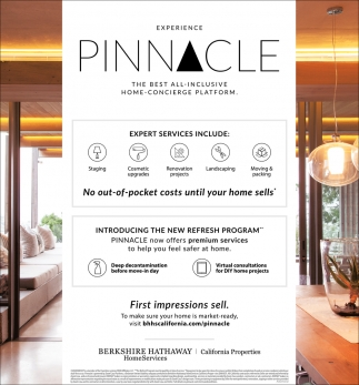 Experience Pinnacle