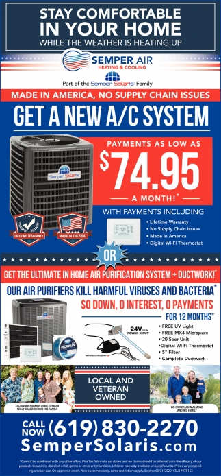 Get A New A/C System
