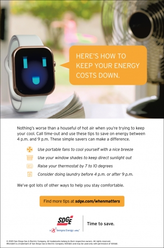 Here's How To Keep Your Energy Costs Down