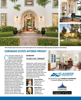 Coronado Estate Affords Privacy
