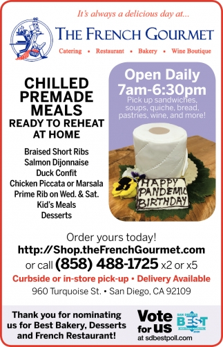 Chilled Premade Meals