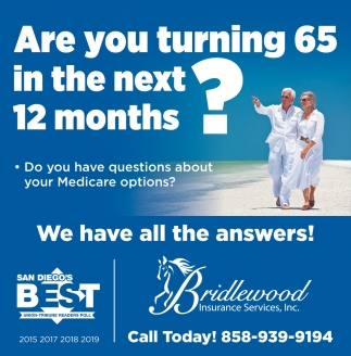 Are You Turning 65 In The Next 12 Months?