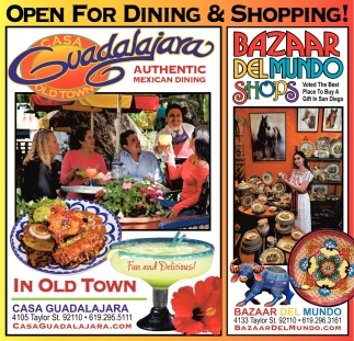 Open for Dining & Shopping!