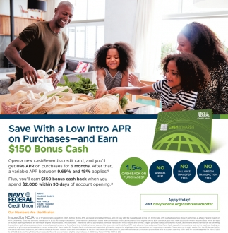Save With a Low intro APR On Purchases
