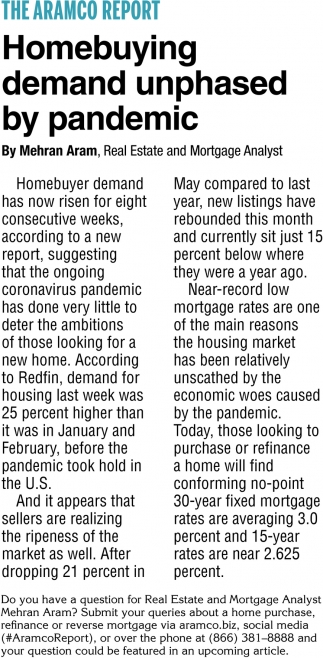 Homebuying Demand Unphased