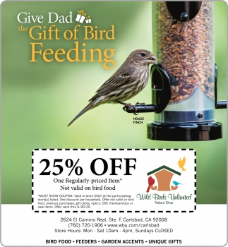 Gift of Bird Feeding