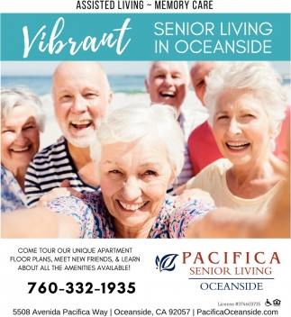 Senior Living In Oceanside