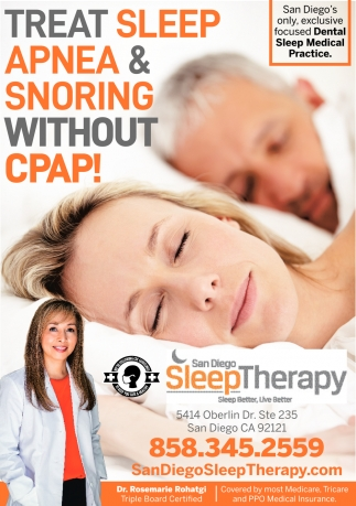 Treat Sleep Apnea & Snoring Without CPAP!