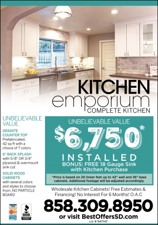 Complete Kitchen