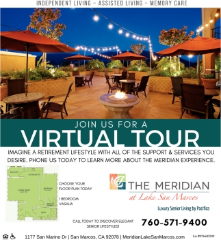 Join Us For a Virtual Tour